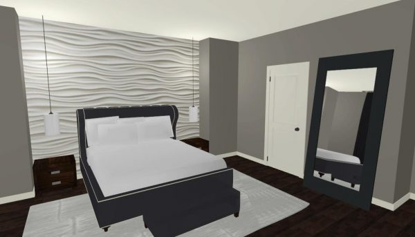 bedroom decorating ideas and designs Remodels Photos Morrone Interiors Orlando Florida united states modern