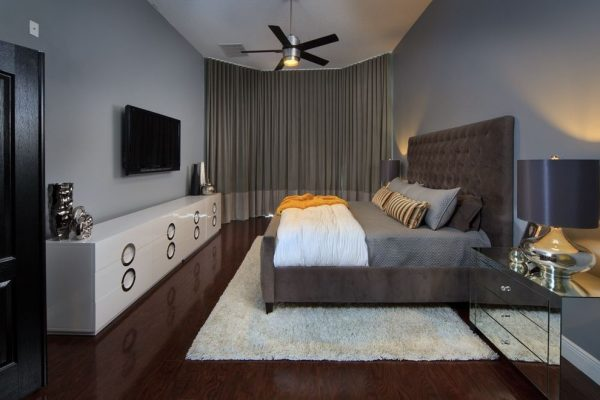 bedroom decorating ideas and designs Remodels Photos Morrone Interiors Orlando Florida united states modern-bedroom