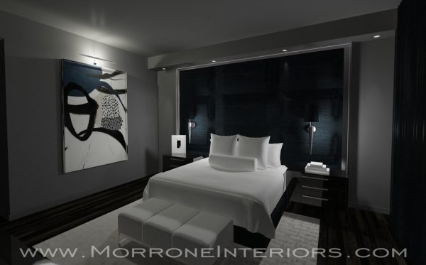 bedroom decorating ideas and designs Remodels Photos Morrone Interiors Orlando Florida united states modern-rendering-001