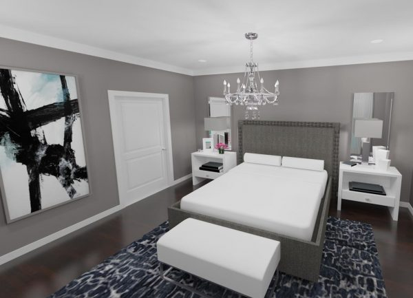 bedroom decorating ideas and designs Remodels Photos Morrone Interiors Orlando Florida united states transitional-rendering