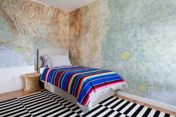 bedroom decorating ideas and designs Remodels Photos Natalie Myers Los Angeles California United States eclectic-kids-001