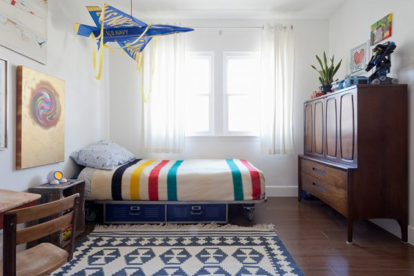 bedroom decorating ideas and designs Remodels Photos Natalie Myers Los Angeles California United States eclectic-kids-002