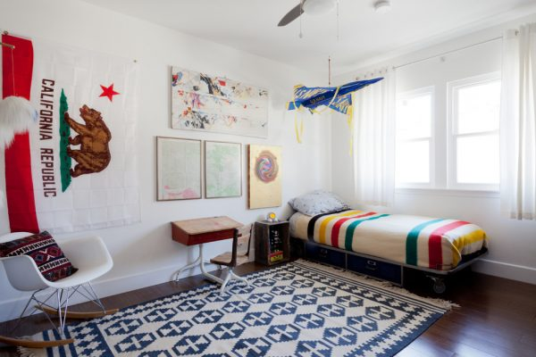 bedroom decorating ideas and designs Remodels Photos Natalie Myers Los Angeles California United States eclectic-kids