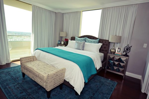 bedroom decorating ideas and designs Remodels Photos Nicole White Designs Interiors LLC Miami Florida contemporary-002
