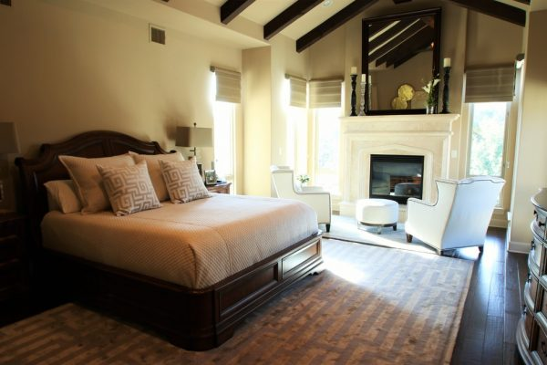 bedroom decorating ideas and designs Remodels Photos Nrinteriors San Antonio Texas United States transitional-bedroom
