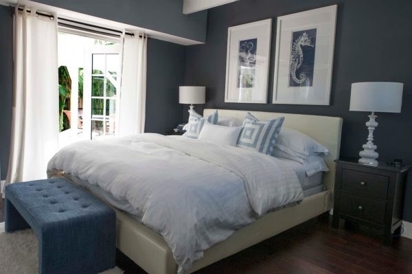 bedroom decorating ideas and designs Remodels Photos Olga Adler Westport Connecticut United States beach-style-bedroom-003