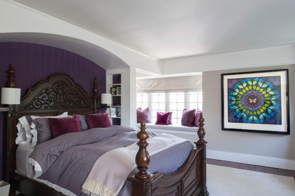 bedroom decorating ideas and designs Remodels Photos Olga Adler Westport Connecticut United States eclectic-bedroom-001