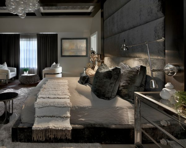 bedroom decorating ideas and designs Remodels Photos PROjECT interiors + Aimee Wertepny Chicago Illinois United States contemporary-bedroom-010
