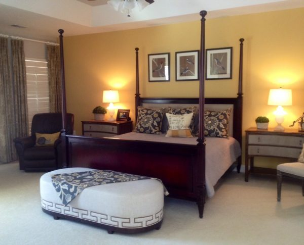 bedroom decorating ideas and designs Remodels Photos Pamela Harvey Interiors Oakton Virginia united states transitional-bedroom-001