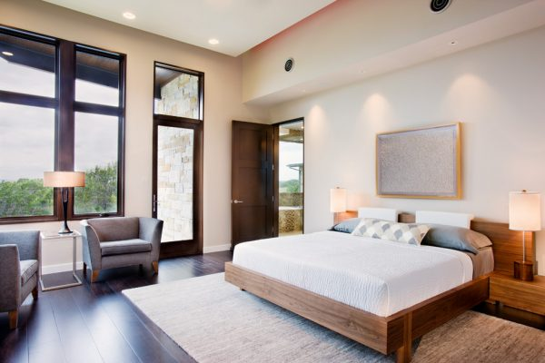 bedroom decorating ideas and designs Remodels Photos Paula Ables Interiors Austin Texas United States contemporary-bedroom-001