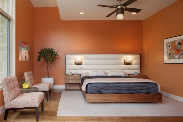bedroom decorating ideas and designs Remodels Photos Paula Ables Interiors Austin Texas United States contemporary-bedroom-005