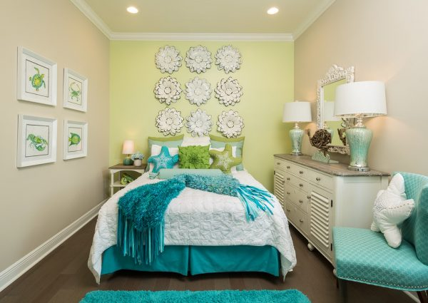 bedroom decorating ideas and designs Remodels Photos Perla Lichi Design Coral Springs Florida United States beach-style-kids-001
