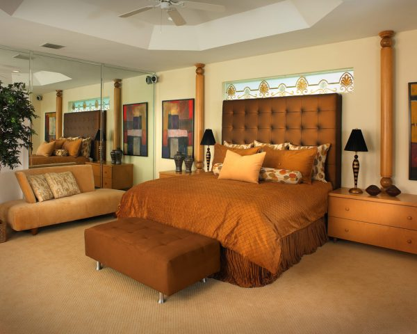 bedroom decorating ideas and designs Remodels Photos Perla Lichi Design Coral Springs Florida United States contemporary-bedroom-001