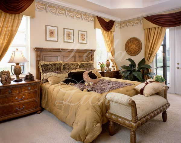 bedroom decorating ideas and designs Remodels Photos Perla Lichi Design Coral Springs Florida United States eclectic-bedroom