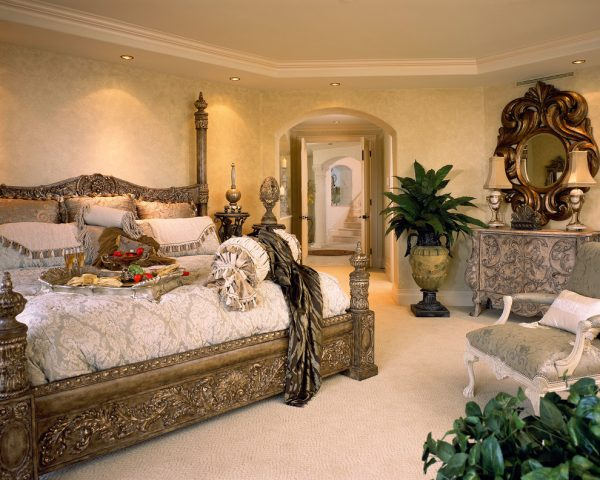 bedroom decorating ideas and designs Remodels Photos Perla Lichi Design Coral Springs Florida United States mediterranean-bedroom-005