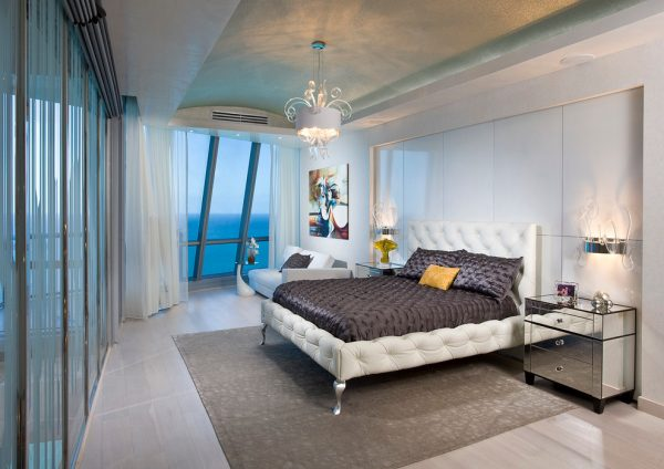 bedroom decorating ideas and designs Remodels Photos Pfuner Design Miami Florida united states contemporary-bedroom-001