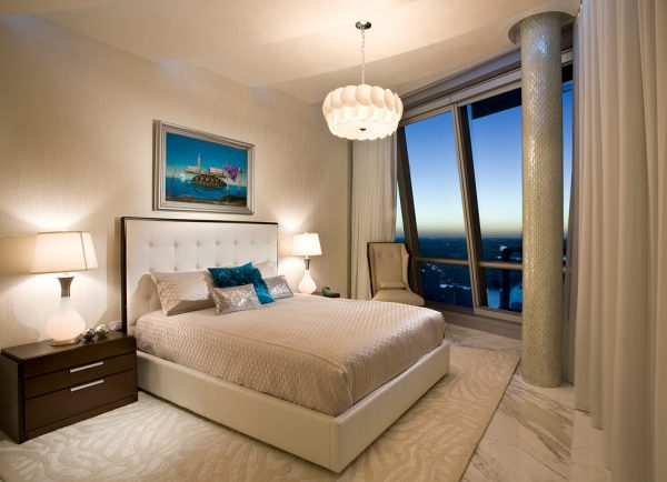 bedroom decorating ideas and designs Remodels Photos Pfuner Design Miami Florida united states contemporary-bedroom