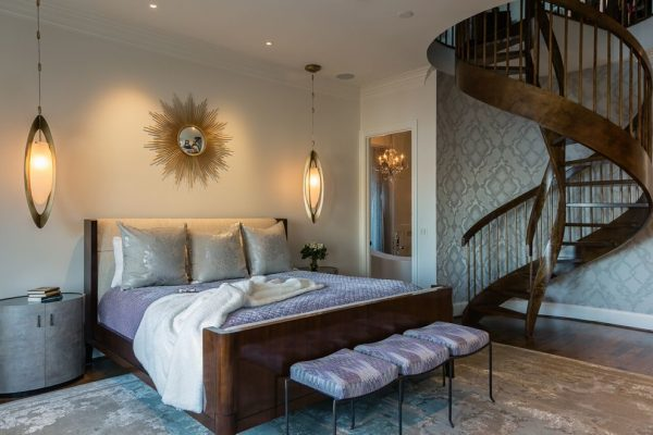 bedroom decorating ideas and designs Remodels Photos R Johnston Interiors Santa Clarita California United States contemporary-bedroom