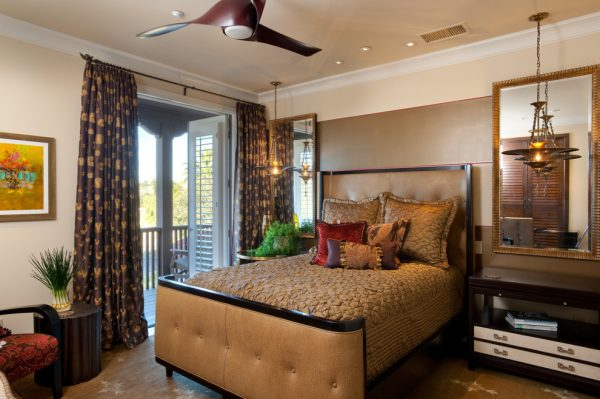 bedroom decorating ideas and designs Remodels Photos R Johnston Interiors Santa Clarita California United States eclectic-bedroom-001