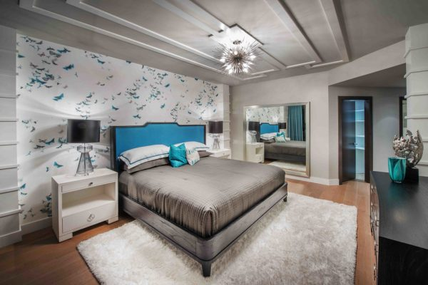 bedroom decorating ideas and designs Remodels Photos Renée Gaddis Interiors Naples Florida United States contemporary-bedroom-001