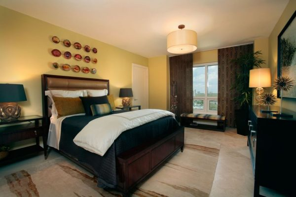 bedroom decorating ideas and designs Remodels Photos Renée Gaddis Interiors Naples Florida United States contemporary-bedroom-002