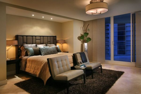bedroom decorating ideas and designs Remodels Photos Renée Gaddis Interiors Naples Florida United States contemporary-bedroom-004
