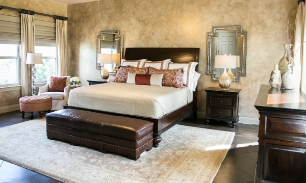bedroom decorating ideas and designs Remodels Photos Robin Gonzales Interiors Austin Texas united states eclectic-bedroom