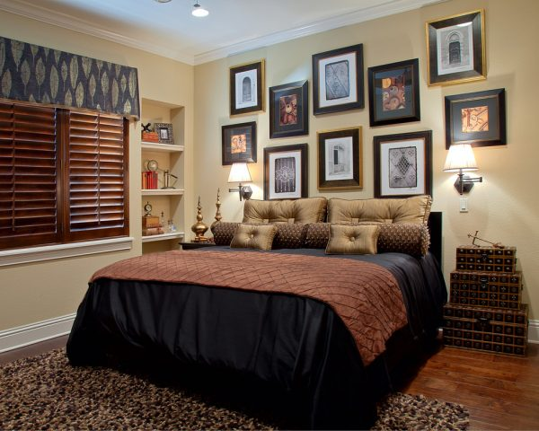 bedroom decorating ideas and designs Remodels Photos Roman Interior Design Oviedo  Florida united states traditional-bedroom-001
