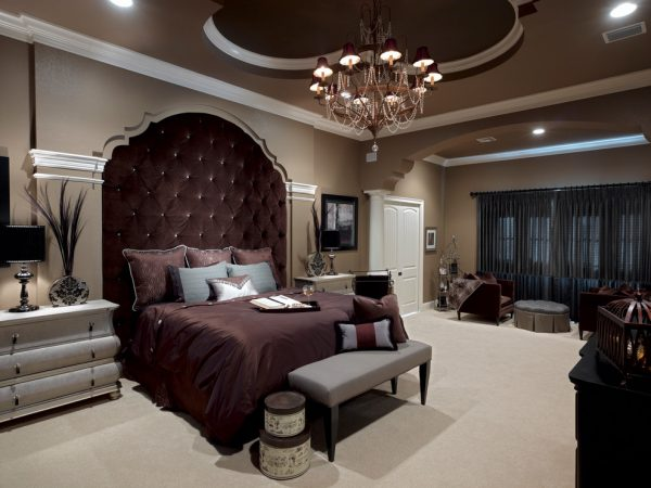 bedroom decorating ideas and designs Remodels Photos Roman Interior Design Oviedo  Florida united states traditional-bedroom