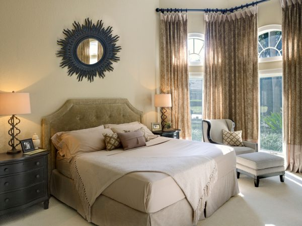 bedroom decorating ideas and designs Remodels Photos Roman Interior Design Oviedo  Florida united states transitional-bedroom-002