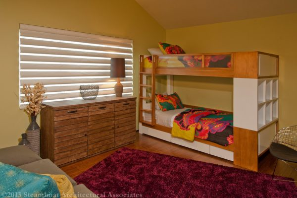 bedroom decorating ideas and designs Remodels Photos Rumor Design + reDesign Steamboat Springs Colorado modern-kids