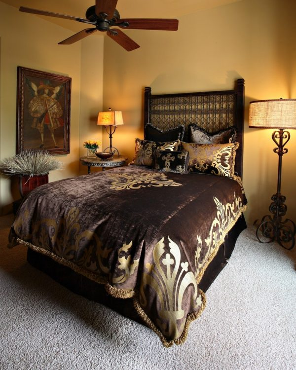bedroom decorating ideas and designs Remodels Photos Sanctuaries Interior Design Scottsdale Arizona United States mediterranean-bedroom-001