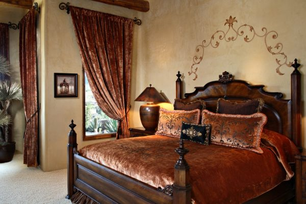 bedroom decorating ideas and designs Remodels Photos Sanctuaries Interior Design Scottsdale Arizona United States mediterranean-bedroom
