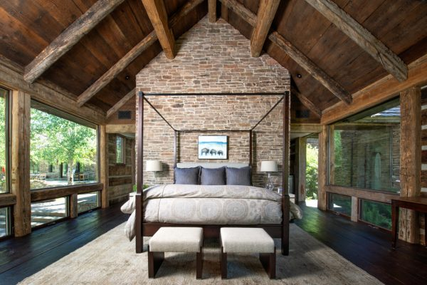 bedroom decorating ideas and designs Remodels Photos Snake River Interiors Jackson Wyoming United States rustic-bedroom-001