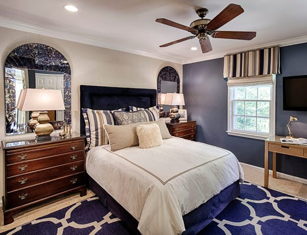 bedroom decorating ideas and designs Remodels Photos StoryBook Rooms, LLC McLean Virginia united states transitional-bedroom-001