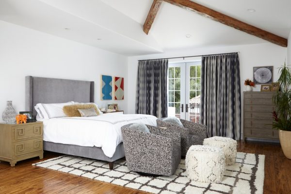 bedroom decorating ideas and designs Remodels Photos Susan Corry Design Sherman Oaks California United States transitional-bedroom