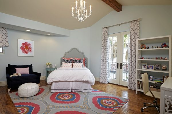 bedroom decorating ideas and designs Remodels Photos Susan Corry Design Sherman Oaks California United States transitional-kids-001