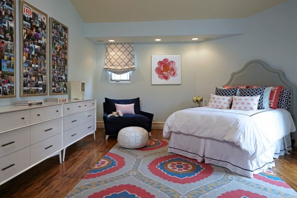bedroom decorating ideas and designs Remodels Photos Susan Corry Design Sherman Oaks California United States transitional-kids-003