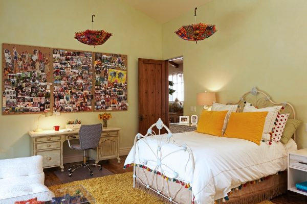bedroom decorating ideas and designs Remodels Photos Susan Corry Design Sherman Oaks California United States transitional-kids
