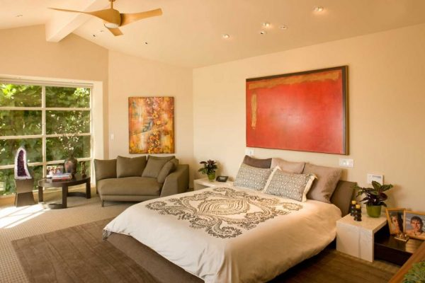 bedroom decorating ideas and designs Remodels Photos Susan Jay Design Pacific Palisades Los Angeles, California united states contemporary-bedroom-004
