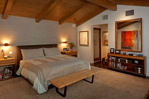 bedroom decorating ideas and designs Remodels Photos Susan Jay Design Pacific Palisades Los Angeles, California united states midcentury-bedroom