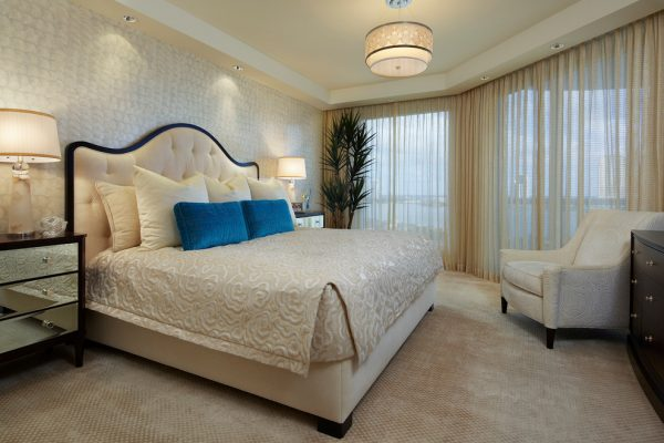 bedroom decorating ideas and designs Remodels Photos Susan Lachance Interior Design Boca Raton Florida United States bedroom