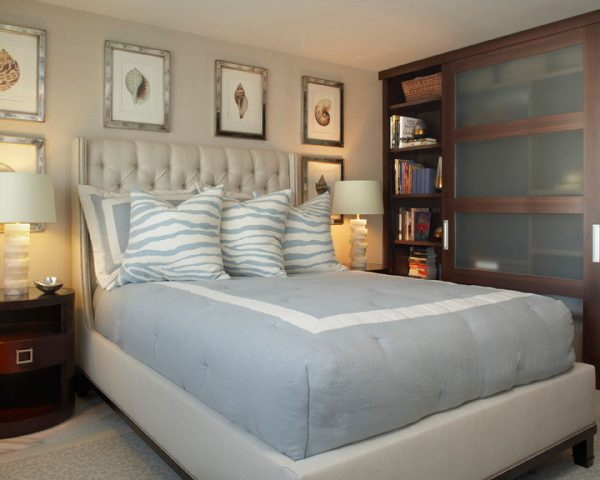 bedroom decorating ideas and designs Remodels Photos Susan Lachance Interior Design Boca Raton Florida United States contemporary-bedroom-010