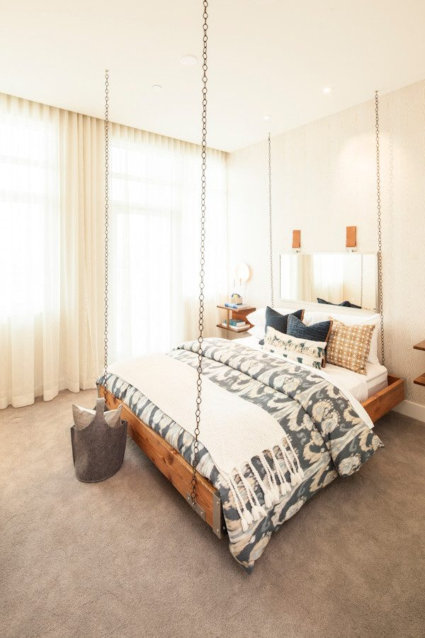 bedroom decorating ideas and designs Remodels Photos Susan Manrao Design Los Angeles California United States contemporary-bedroom-002