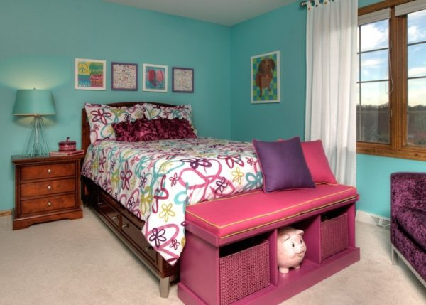 bedroom decorating ideas and designs Remodels Photos Suzan J Designs - Decorating Den Interiors Milwaukee Wisconsin traditional-kids