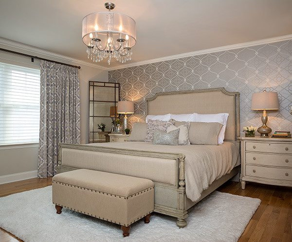 bedroom decorating ideas and designs Remodels Photos Suzan J Designs - Decorating Den Interiors Milwaukee Wisconsin transitional-bedroom