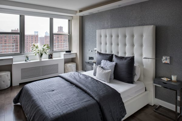 bedroom decorating ideas and designs Remodels Photos TAHAR DÉCOR New York United States modern-bedroom-001