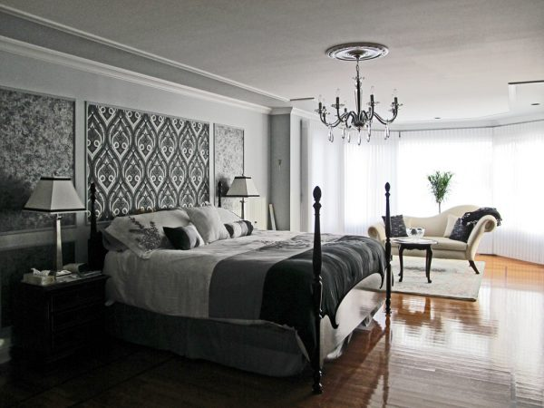 bedroom decorating ideas and designs Remodels Photos TOC design Pierrefonds, Quebec Québec, Canada traditional-bedroom