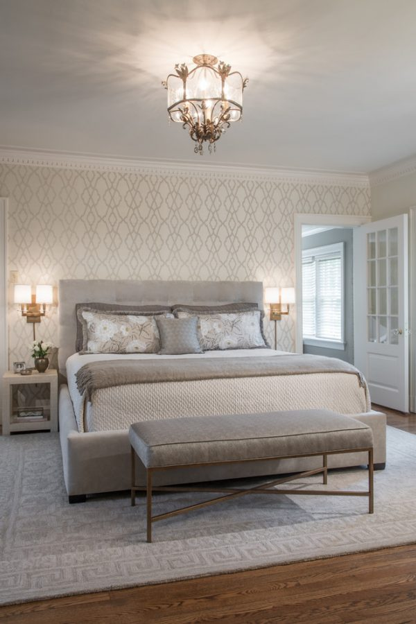 bedroom decorating ideas and designs Remodels Photos Tamsin Design Group St. Louis Missouri United States transitional