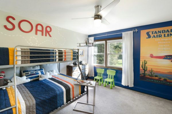 bedroom decorating ideas and designs Remodels Photos Taylor Design Studio Chagrin Falls Ohio united states transitional-kids
